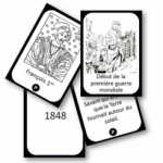 Jeu de cartes pour mémoriser les «repères» d'Histoire.