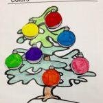 (Anglais) Trace écrite de Noël sur les couleurs
