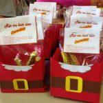 Marché de Noël : fry box et riz au lait