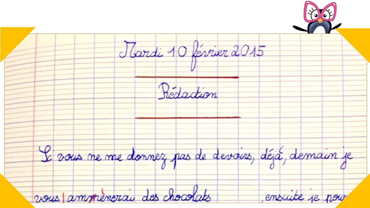101 idées de consignes d'écriture pour un rituel de rédaction - Charivari à l'école