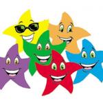 Des étoiles de conjugaison pour le CE1 et le CE2 (avec version DYS)