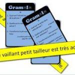 Jeu de révision de grammaire en classe entière (CE1) : Gramolo