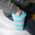 Astuce d'organisation : piocher dans une chaussette