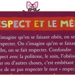 Instruction civique : le respect