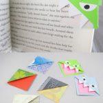 Trouvaille #26 : Un marque-page rigolo en origami