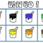 Loto / bingo des couleurs