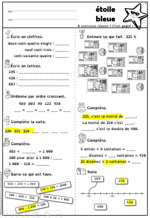 etoile-numeration-fluo