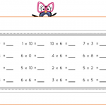 Ceintures de tables de multiplications (v2)