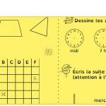 Les étoiles de géométrie et mesure pour les CE1-CE2