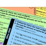 Ceintures de grammaire (y compris tests version DYS,et corrigés des tests)