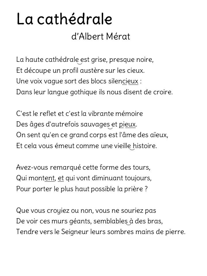 poésie sur notre dame de paris