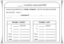 Lecons De Conjugaison Cm1 Cm2 Charivari A L Ecole