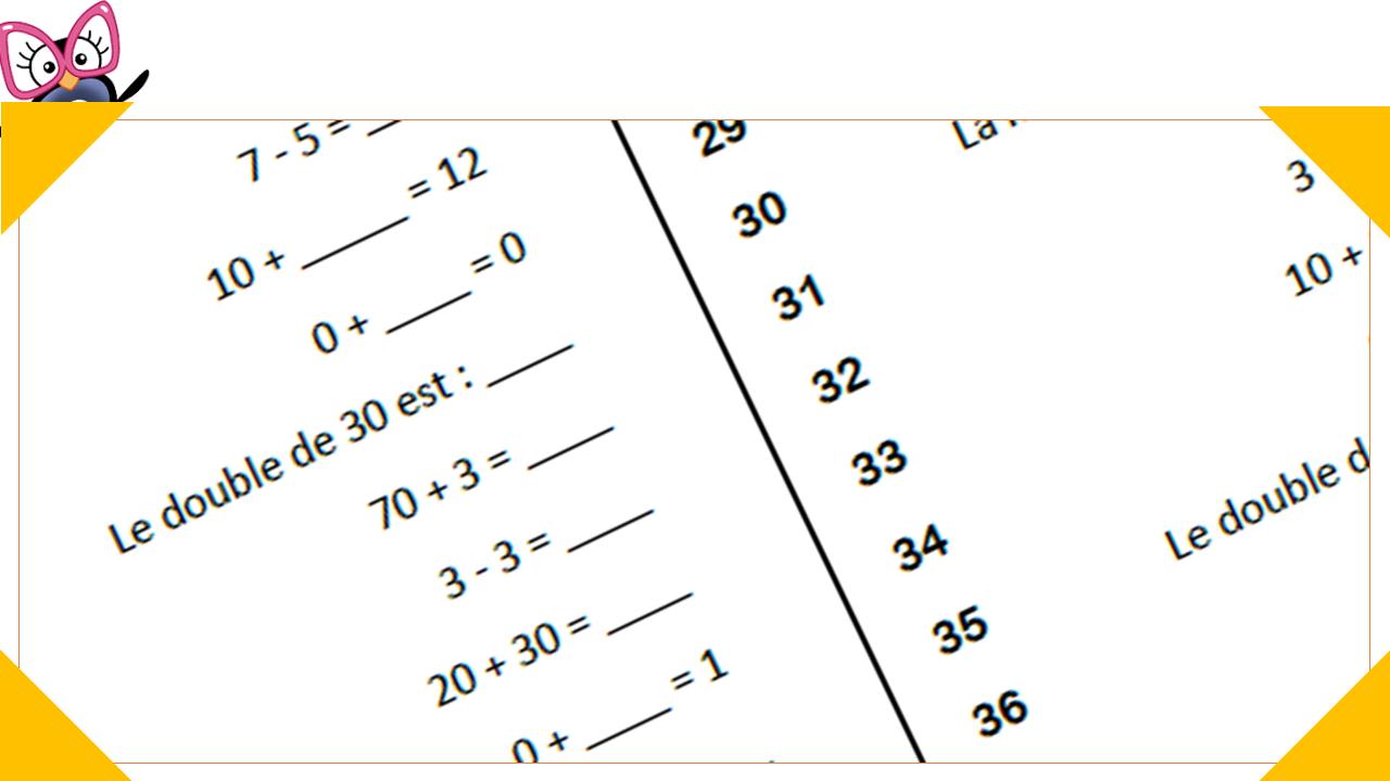 Defi Calcul Mental Au Cp Programmation Et Generateur Charivari A L Ecole